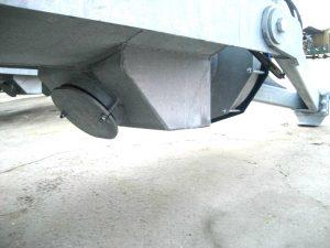 ØRUM vogn med Stenfælde som standard udstyr