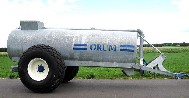ØRUM Gyllevogn 6000L med 23,1x26 hjul