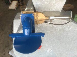Gyllevogn med Skydeventil på tømmerør