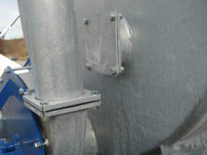 Gyllevogne er forberedt for omskiftehane