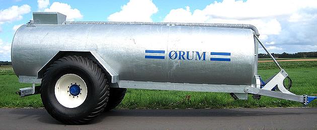 ØRUM 12.000L Gyllevogne med indbygget 650/65x30,5 hjul