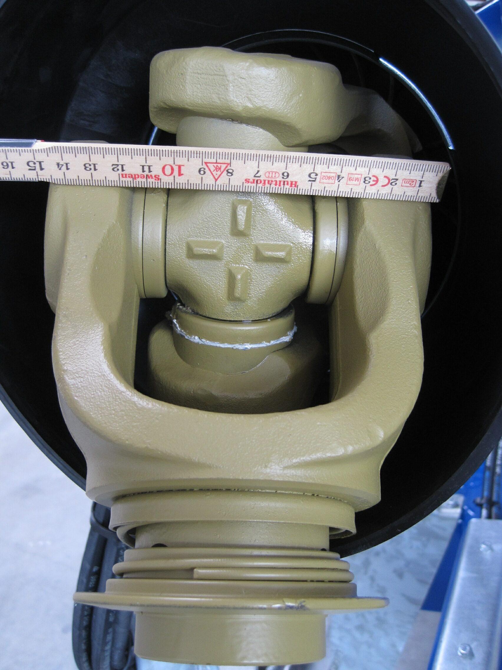PTO aksel til GMD-8600